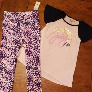 🆕️ Juicy Couture summer matching set/navy ,pink